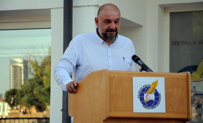 Rasıh Reşat, Dış Basın Birliği'nin yeni başkanı oldu