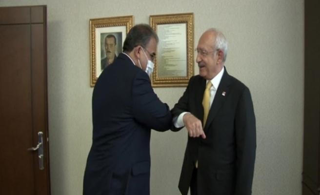 Sucuoğlu, Ankara'da CHP Genel Başkanı Kemal Kılıçdaroğlu'yla bir araya geldi