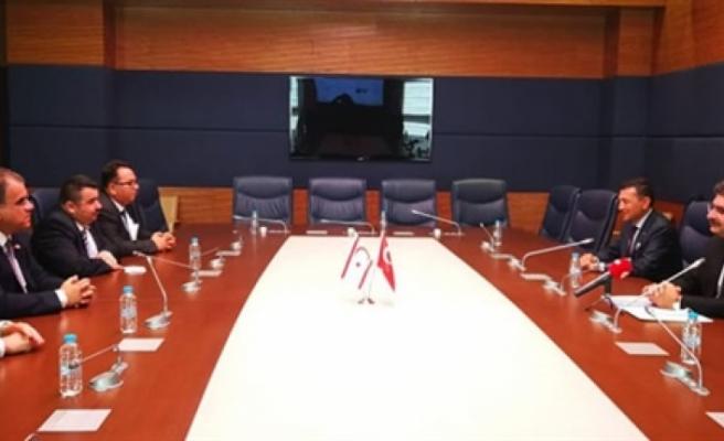 Sucuoğlu, Ankara'daki temasları kapsamında bugün TC – KKTC Parlamentolar Arası Dostluk Grubu üyeleriyle görüştü