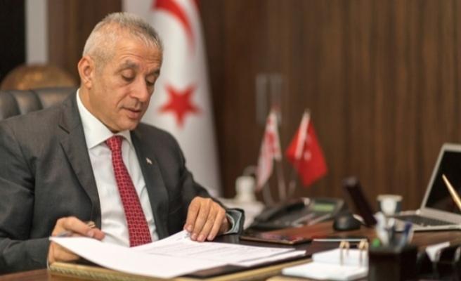 """Taçoy: """"Sayın Mustafa Akıncı'yı sağduyuya davet ediyorum"""""""
