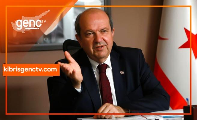 """Tatar, Anastasiadis'i """"Kıbrıs Türk tarafıyla işbirliğine ve anlaşmaya"""" davet etti"""