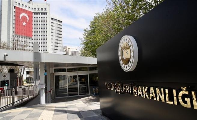 """Türkiye Dışişleri Bakanlığı: """"BMBG'nin varlığına dair Kıbrıs Türk tarafının rızasının alınmaması BM kural ve ilkelerine aykırı"""""""