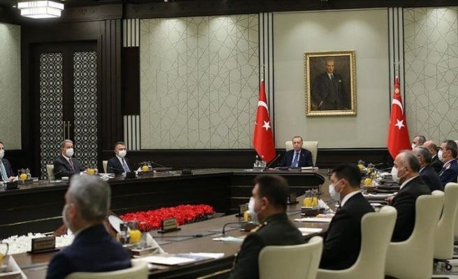 Türkiye Milli Güvenlik Kurulu toplantısında Kıbrıs vurgusu