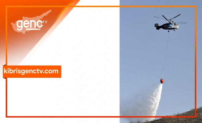 Türkiye'den bir yangın helikopteri, ülkede konuşlanacak