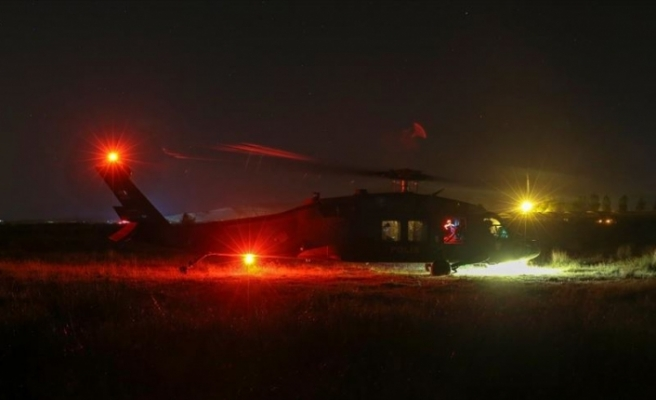 Van'da keşif uçağı düştü: 7 şehit