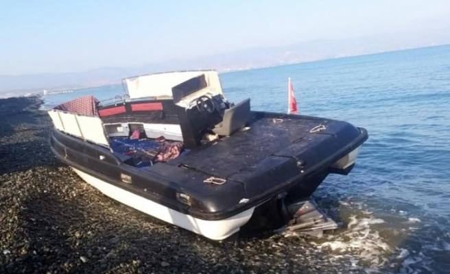 Yayla sahilinde 30 Suriye'li mülteci tespit edildi