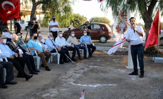 """Akçay'da  """"Rauf Raif Denktaş Parkı"""" yapılıyor"""