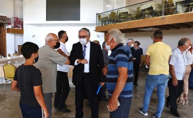 Akıncı, Lefkoşa Türk Belediyesi sınırları içindeki muhtarlarla görüştü