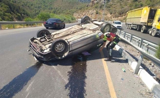 Araç sürücüsü 90 promil alkollü çıktı