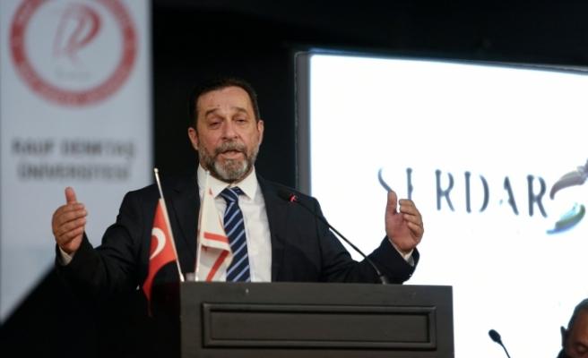 """DP Parti Meclisinden """"Kayıtsız şartsız Denktaş'a destek"""""""