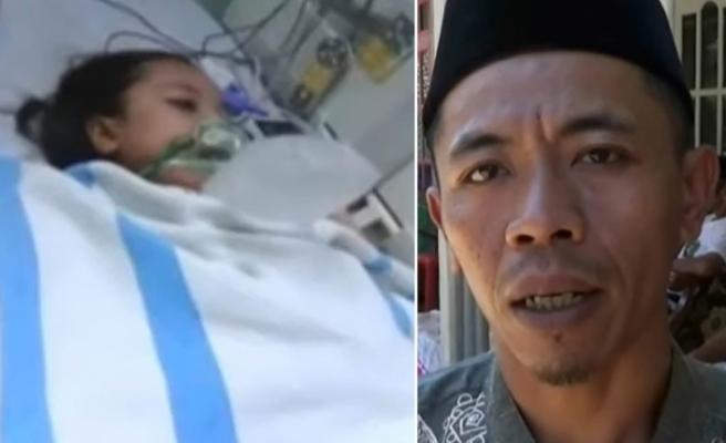 Endonezya'da hastanede ölen çocuk, cenaze işlemi sırasında yeniden canlandı