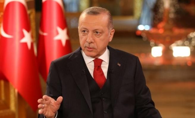 """Erdoğan: """"Akdeniz ve Ege'de korsanlığa asla 'eyvallah' etmeyiz"""""""