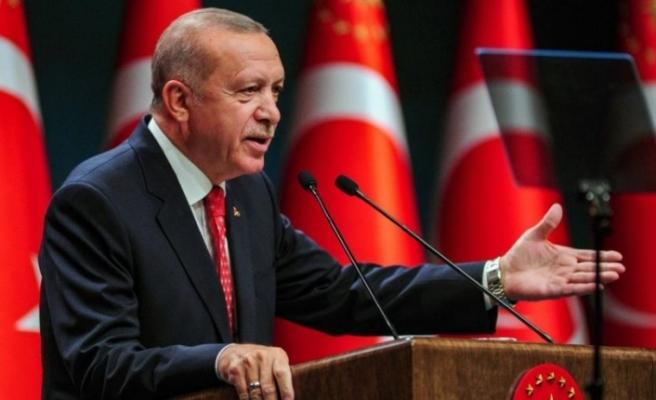 """Erdoğan: """"Doğu Akdeniz'de çözümün yolu, diyalog ve müzakeredir"""""""