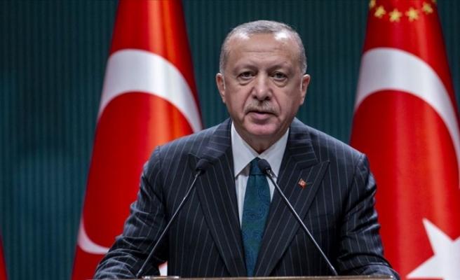 """Erdoğan: """"Sabrın, gayretin ve inancın bir sonucu"""""""
