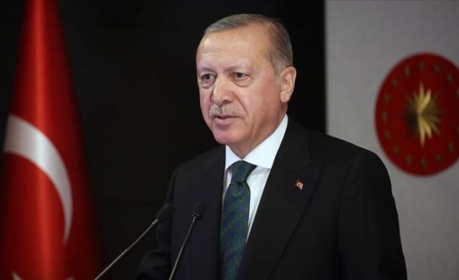 """Erdoğan: """"Türkiye, tarihinin en büyük doğal gaz keşfini Karadeniz'de gerçekleştirdi"""""""