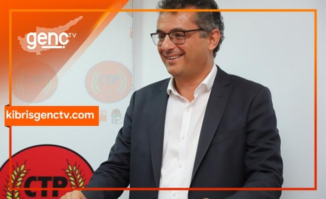 """Erhürman: """"Kıbrıs Türk halkını geleceğe taşımak için adayım"""""""