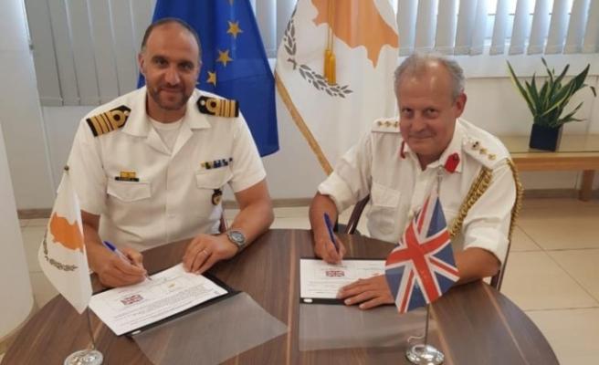 Güney Kıbrıs ve Britanya 2020 – 2021 için Savunma ve Güvenlik konularında İkili İşbirliği Programı imzaladı