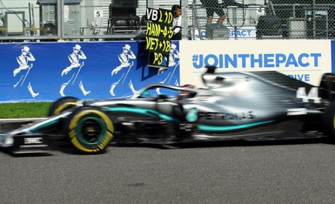 Hamilton'dan Formula 1 tarihinde yeni rekor