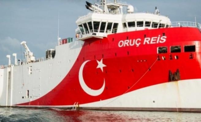 Oruç Reis gemisinin görevi 27 Ağustos'a kadar uzatıldı