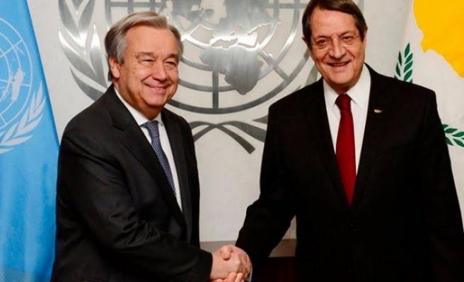 Rum Lider BM Genel Sekreteri ile görüştü