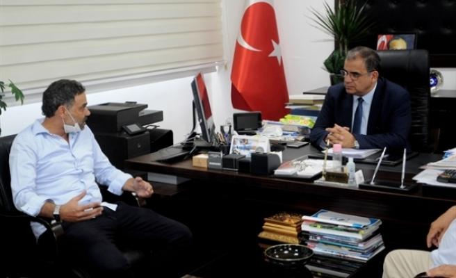 Sucuoğlu, Kiralık Araç İşletmecileri Birliğini kabul etti
