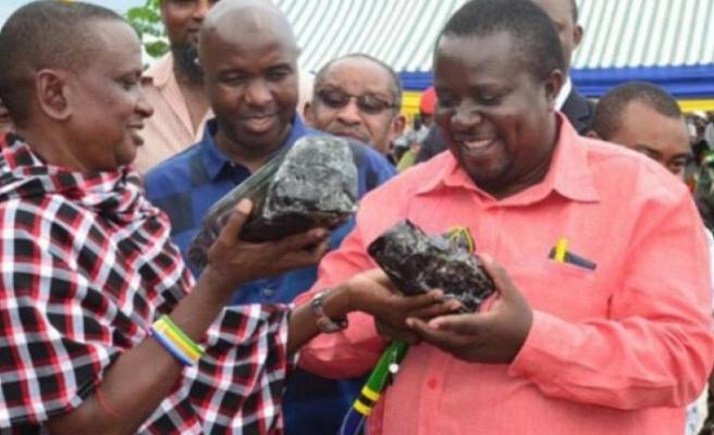 Tanzanyalı madenci ikinci kez milyon dolarlık taş buldu