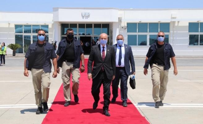 Tatar, Ankara'ya gitmek üzere adadan ayrıldı