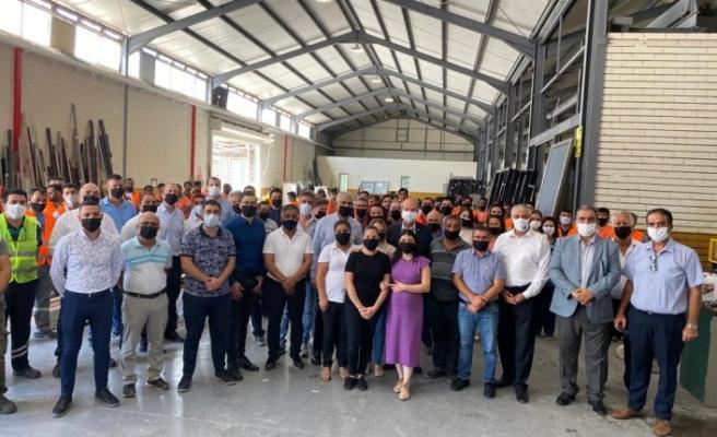 """Tatar, """"Kıbrıs Türk halkının ekonomik kalkınmayı da başaracağından emin olduğunu"""" belirtti"""