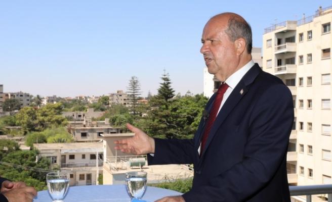 """Tatar:  """"KKTC toprağı Kapalı Maraş mutlaka açılacak"""""""