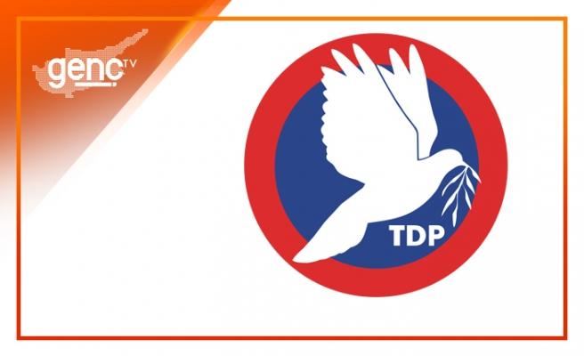 """TDP: """"BM, Kıbrıs Türk halkının hassasiyetlerini de dikkate almalıdır"""""""