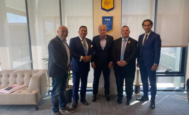 Türkiye Futbol Federasyonu ile Türk Toplumlu Futbol Federasyonundan önemli işbirliği