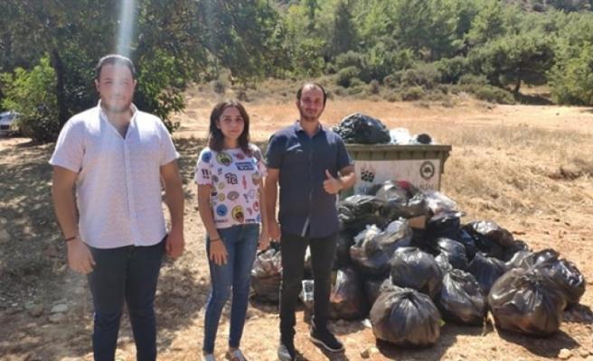 YDP Gençlik Kollarından Boğazda temizlik