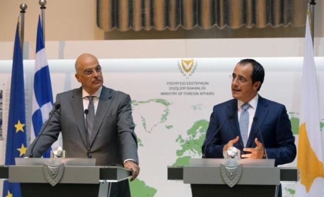 Yunanistan Dışişleri Bakanı'nın Güney Kıbrıs temasları