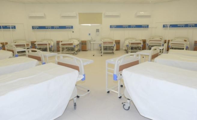 22 odalı yeni bir pandemi merkezi oluşturuldu