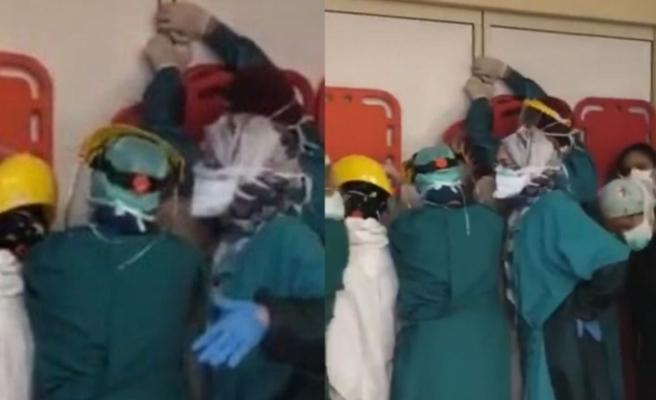Ankara'da hasta yakınlarından sağlıkçılara silahlı saldırı!