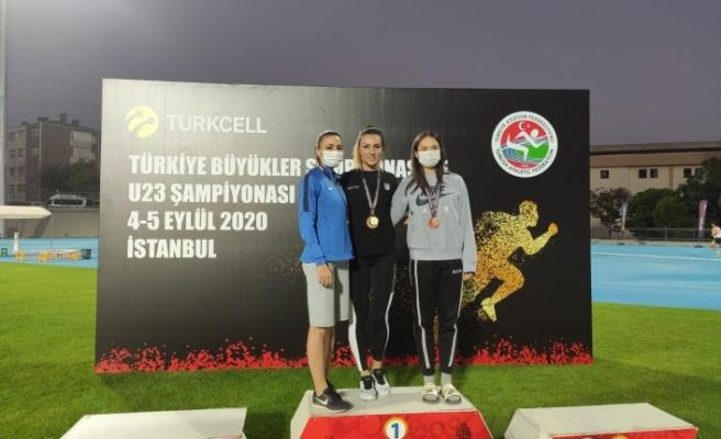 Atletlerimiz Türkiye Şampiyonası'na  damga vurdu