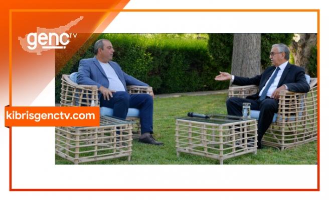 Başaran Düzgün'ün Akıncı ile söyleşisi bu akşam Kıbrıs Genç Tv'de