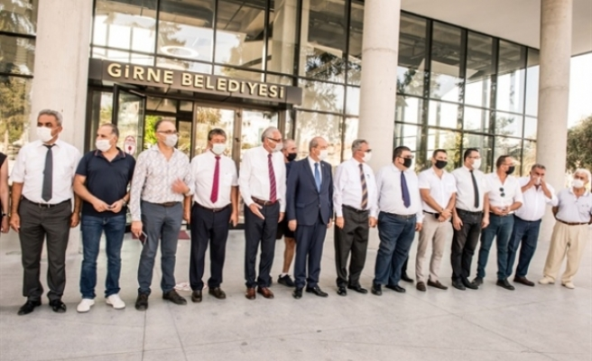 Başbakan Tatar Girne'deydi