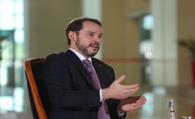 """Berat Albayrak: """"Bütçe dengemiz Ağustos'ta 28,2 milyar lira fazla verdi"""""""