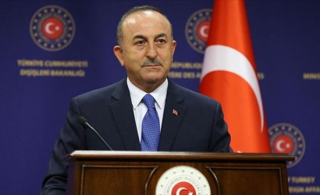 """Çavuşoğlu: """"Türkiye Doğu Akdeniz'de geri adım atmadı"""""""