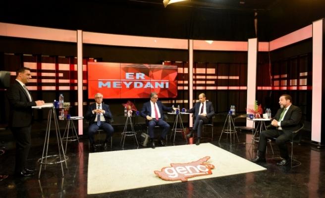 Cumhurbaşkanı adayları Kıbrıs Genç Tv'de...