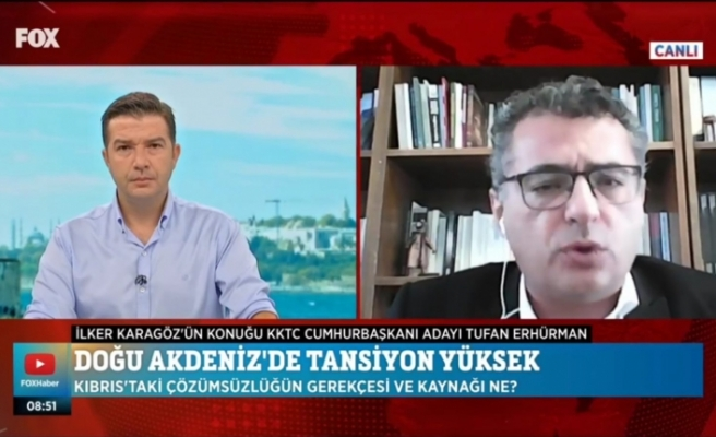 """Erhürman: """"Kıbrıs Türk halkının varlığı unutanlara hatırlatılmalı"""""""