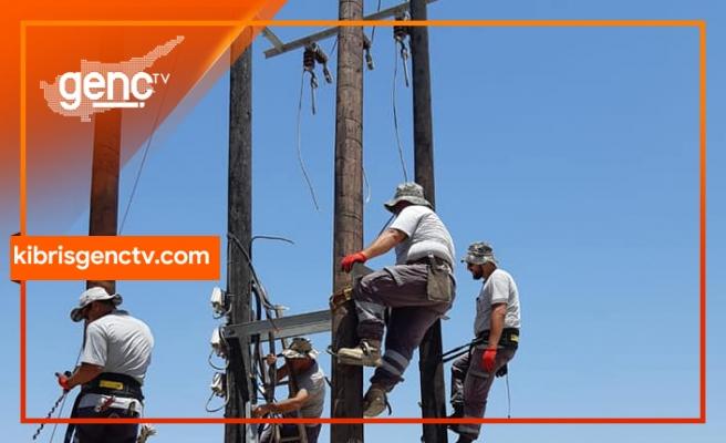 Mağusa'da bugün 6 saat elektrik kesintisi