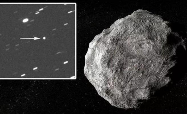 NASA'dan göktaşı açıklaması: 2 saat arayla Dünya'yı teğet geçti