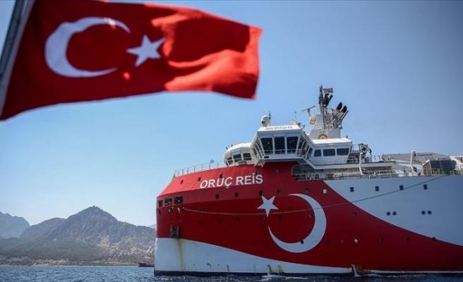 Oruç Reis araştırma gemisiyle ilgili 'özel' video