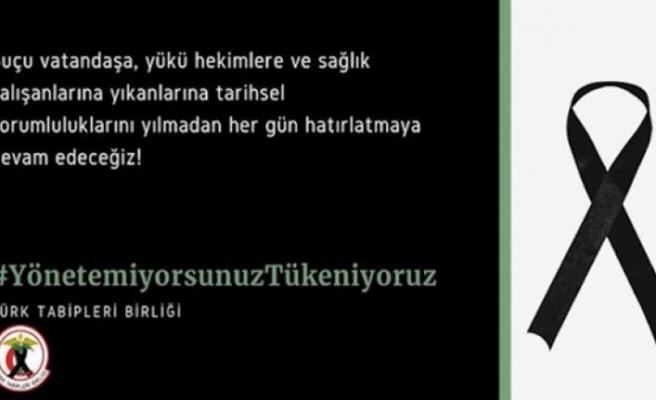 Türkiye'deki Türk Tabipleri Birliği ve hekimlere yapılan saldırıları kınama ve destek