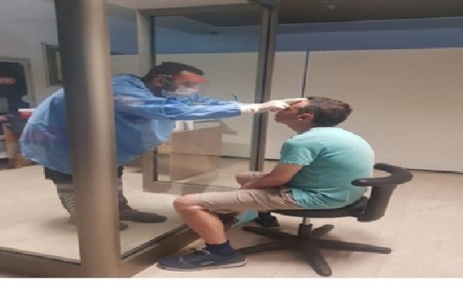 Tütün Endüstrisi Ltd. Şirketi personeline test yapıldı