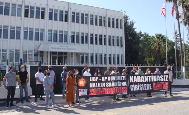 """""""UBP-HP Hükümeti Halk Sağlığına Zararlıdır"""""""