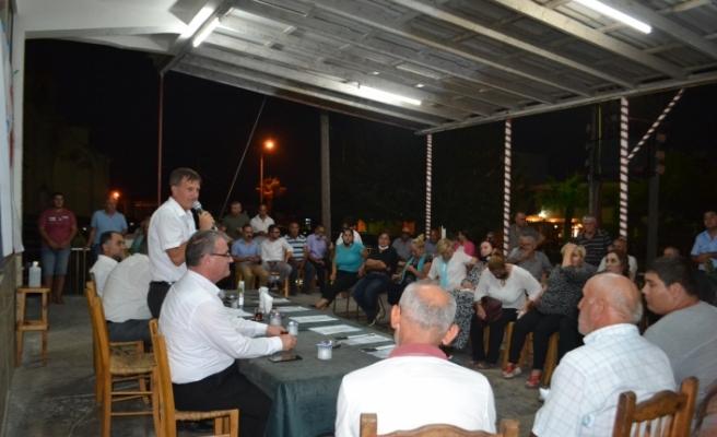 YDP'den  Dipkarpaz ve Sipahi'ye ziyaret