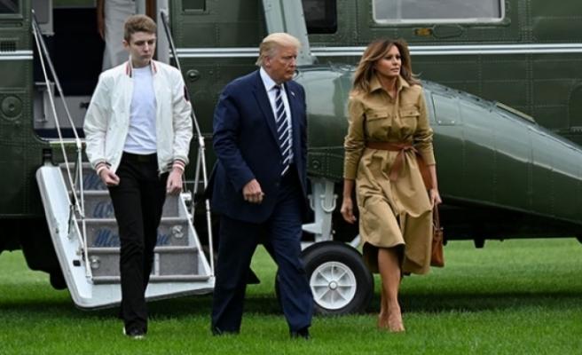 ABD Başkanı Trump'ın oğlu da koronavirüse yakalanmış